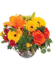 FALL 9 Fall Vase Arrangement