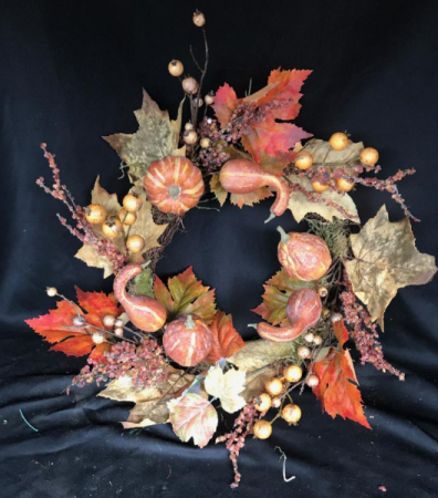 Fall Abundance Wreath Fall Wreath