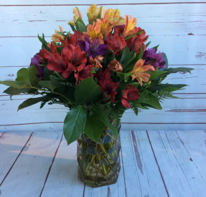 Fall Alluring Alstroemeria  in Culpeper, VA | ENDLESS CREATIONS FLOWERS AND GIFTS