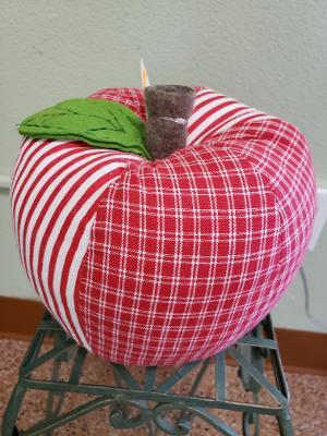 Fall Apple Pillow