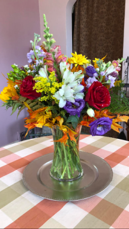 Fall arrangement Vase