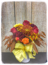 FALL BALL FLOWER ARRANGEMENT