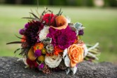 Fall Beauty Bridal Bouquet
