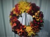 Fall Beauty silk wreath
