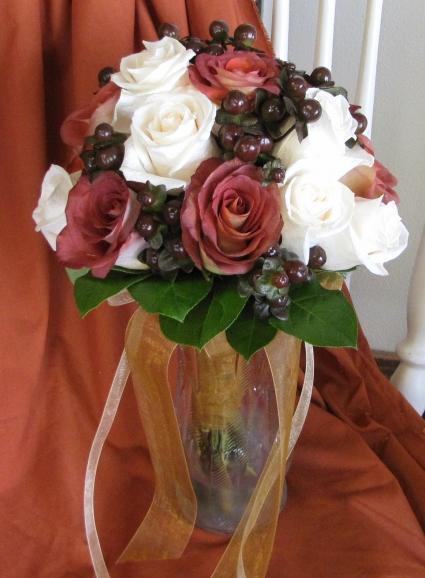 Fall Beauty Wedding Bouquet