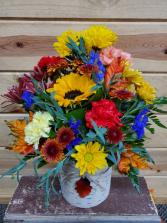 Fall Birchbark Bouquet