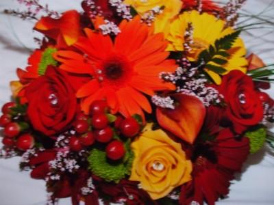 FALL BLEND Bridal Bouquet