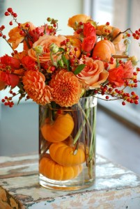 Fall Bliss **Mini pumpkins are based on availability.