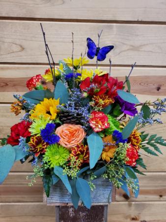 Fall Blooming Box