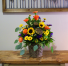 Fall Blooms Container Arrangement