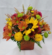 Fall Blooms Fresh Arrangment