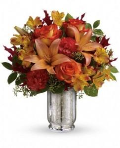 Fall Blush Bouquet  Arrangement
