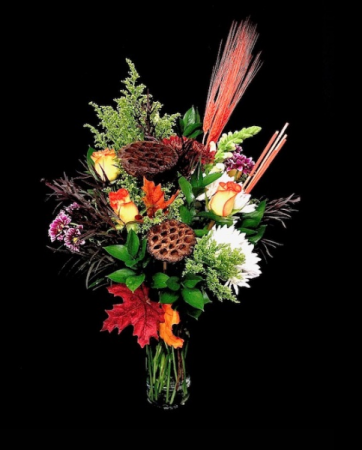 Fall Floral Roses Mix