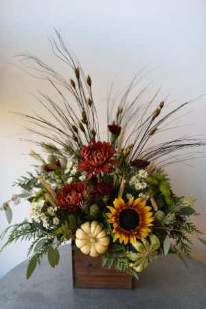 Fall Box of Blooms  in La Grande, OR | FITZGERALD FLOWERS