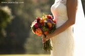 Fall Bride Fall bouquet