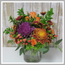 Fall Bright  Vase