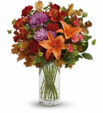 Fall Brights Bouquet Fresh Arrangement