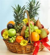 Fruit and flowers Basket Fruit Basket