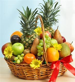 Fruit and flowers Basket Fruit Basket