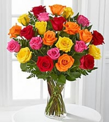 Beautiful Roses Assorted Fresh Long Stem Roses