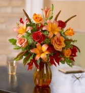 Fall Burst vase