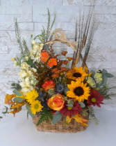 Fall Butterfly Basket