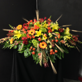 Fall Casket Tribute Sympathy