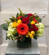 Fall Celebration Vase