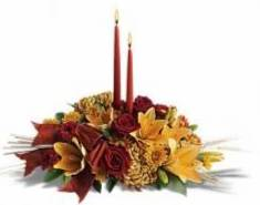 Fall Center Love Fall Arrangement