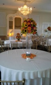Fall Centerpiece Wedding table arrangement