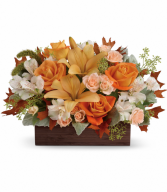 Fall Chic  All-Around Floral Arrangement
