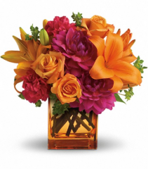 Fall Chic Floral Arrangement