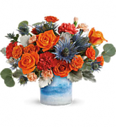 Fall Chic Vase Arrangement