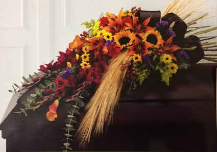 Fall Collection  Casket Cover