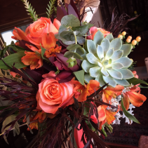 Fall Collection Handtied Bridal Bouquet