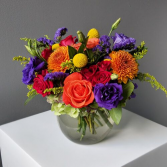 Fall Color Ball Arrangement