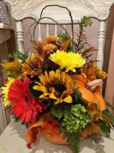 Fall Colors Pumpkin  Enchanted Design