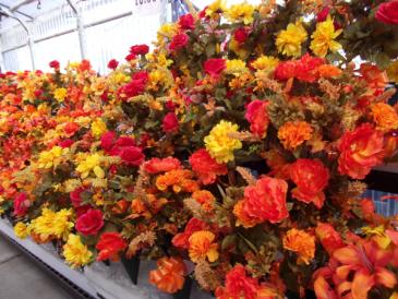 FALL CONES $19.99 FALL FLOWERS
