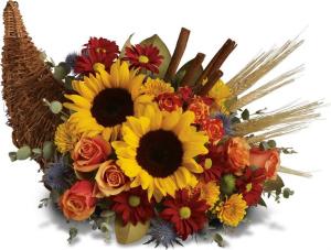 Fall Cornicopia   in Bedford, NH | Dixieland Florist & Gift Shop Inc.