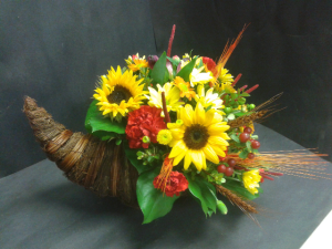 Fall Cornucopia  in Tottenham, ON | TOTTENHAM FLOWERS & GIFTS