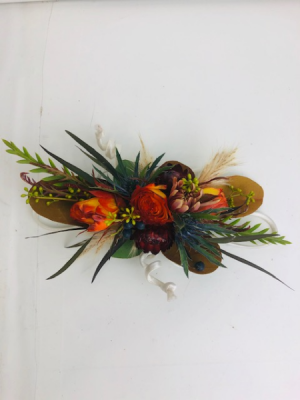 Fall Corsage Wrist Corsages in North Bend, OR   PETAL TO THE METAL FLOWERS