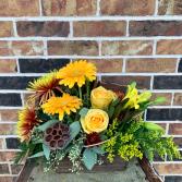 Fall Cottage Floral Design