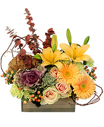 Fall Cottage Floral Design