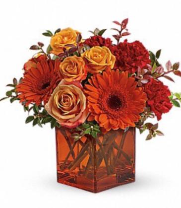 Fall cube vase Vase