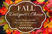 Fall Designer's Choice - SMALL