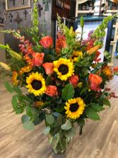 Fall Elegance's  Vase