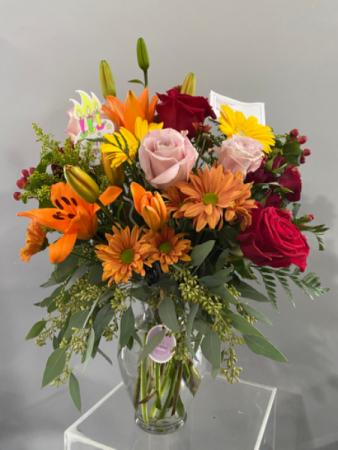 Fall espectacular  Floral arrangement