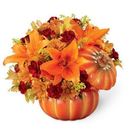 Fall Expression Pumpkin
