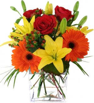 Fall Extravagance  Vase Arrangement in Port Stanley, ON | FLOWERS BY ROSITA