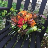 Fall Extravaganza  Contains a Mixture of Beautiful Textures and Fall Colored Flowers